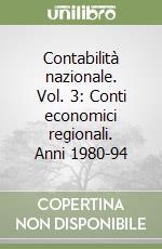 Contabilità nazionale (3) libro