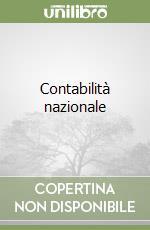 Contabilità nazionale (1) libro