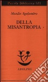 Della misantropia libro