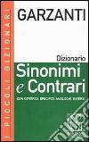 Dizionario sinonimi e contrari libro