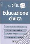 Educazione civica libro