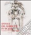 Annali del barocco in Sicilia (7) libro