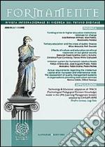 Formamente. Rivista internazionale sul futuro digitale (2013). Ediz. inglese vol. 1-2 libro
