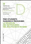 Le ricerche dei dottorandi del Politecnico di Bari