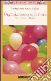 Organizziamo una festa libro