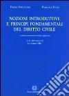 Nozioni introduttive e principi fondamentali del diritto civile libro di Perlingieri Pietro - Femia Pasquale