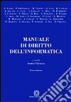 Manuale di diritto dell'informatica libro