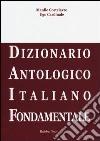 Daif. Dizionario antologico italiano fondamentale libro