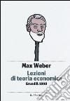 Lezioni di teoria economica