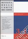 Rivista della Corte dei Conti (2016) vol. 3-4 libro