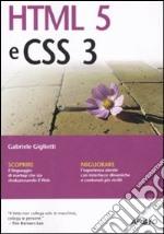 HTML 5 e CSS 3 libro