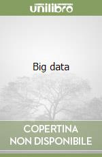 Big data libro di Marz Nathan; Warren James