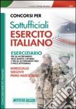 Concorsi per sottufficiali esercito italiano. Eserciziario