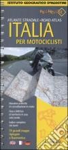 Atlante stradale Italia per motociclisti 1:400.000 libro