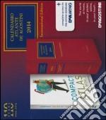 Calendario atlante De Agostini 2014-Atlante del mondo compact. International edition. Con aggiornamento online libro