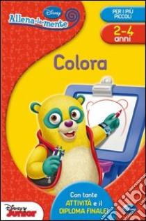 Colora. Con adesivi libro