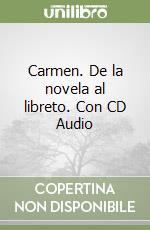 CARMEN + CD libro di PROSPER MERIMEE