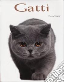 Gatti libro di Capra Flavia