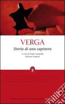 Storia di una capinera. Ediz. integrale libro di Verga Giovanni
