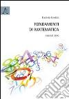 Fondamenti di matematica. Volume zero libro
