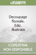 Decoupage floreale libro