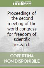 proceedings of the world congress on The paper and presentation proceedings from the 22nd its world congress are  now available don't let the learning and innovation stop with.