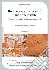 Risanamento di murature umide e degradate. Sintomi e cause, rimedi, soluzioni progettuali libro
