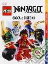Gioca e disegna. Lego ninjago. Con adesivi libro