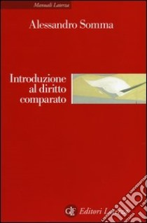 Introduzione al diritto comparato libro di Somma Alessandro