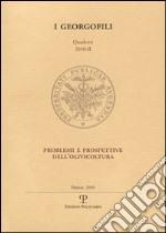 Problemi e prospettive dell'olivicoltura libro