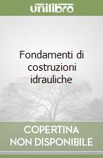 Fondamenti di costruzioni idrauliche libro di Becciu Gianfranco - Paoletti Alessandro
