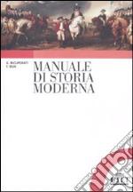 Manuale di storia moderna libro