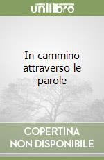 In cammino attraverso le parole libro di Antiseri Dario - Cotroneo Roberto - De Mauro Tullio