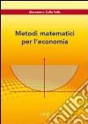 Metodi matematici per l'economia libro