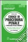 Codice di procedura penale e processo penale minorile libro