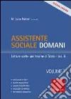 Assistente sociale domani (1) libro