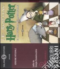 Harry Potter e la pietra filosofale letto da Giorgio Scaramuzzino. Audiolibro. 2 CD Audio formato MP3  di Rowling J. K.