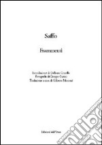 Saffo. Frammenti libro