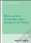 Ritmo, metro e sintassi nella lirica di Lorenzo de' Medici libro