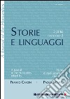 Storie e linguaggi. Rivista di studi umanistici (2016). Vol. 2 libro