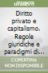 Diritto privato e capitalismo. Regole giuridiche e paradigmi di mercato libro