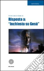 Risposta a: Inchiesta su Ges libro di Carlini Giancarlo
