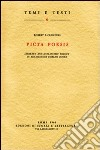 Picta poesis. Literary and humanistic theory in Renaissance emblem books libro