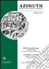 Azimuth (2015). Ediz. italiana, inglese e tedesca. Vol. 5: Rethinking exchange. Itineraries through economy, sociology and philosophy libro