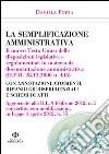 La semplificazione amministrativa libro
