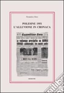 Polesine 1951. L'alluvione in cronaca libro di Moro Pierandrea