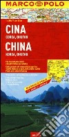 Cina, Corea, Bhutan 1:4.000.000 libro