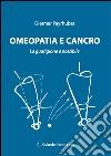 Omeopatia e cancro libro