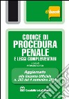 Codice di procedura penale e leggi complementari. E-book. Formato EPUB libro