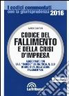 Codice del fallimento e della crisi d'impresa libro